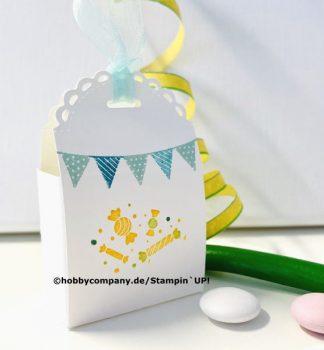 Mini-Geschenkschachtel Kindergeburtstag
