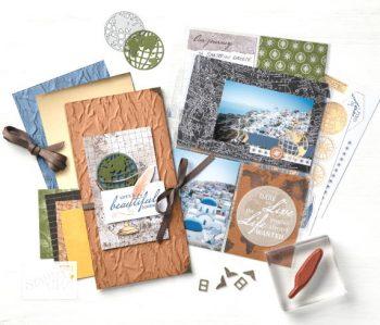 Fotoalbum-Scrapbook gestalten