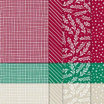 Aktionen Designerpapier Klassische Weihnachten