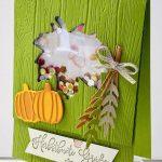 Schüttelkarte Herbstbunte Grüsse