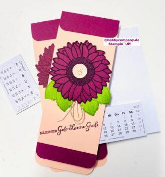 Mini-Kalender und Notizblöcke