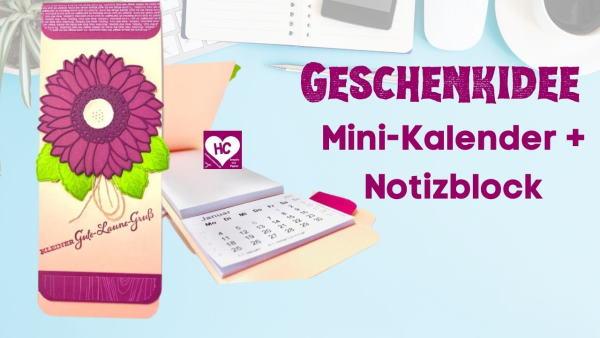 Anleitung Mini-Kalender