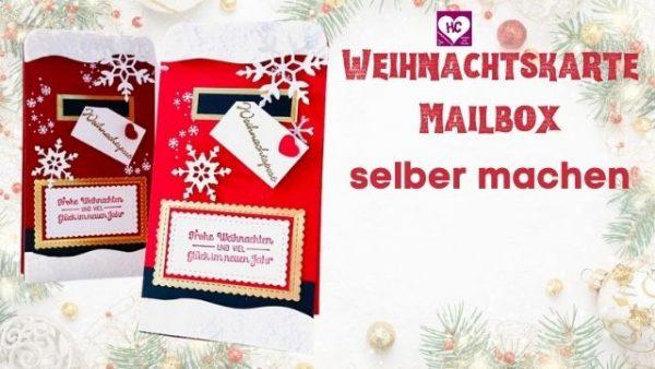 Weihnachtskarte Mailbox  Anleitung