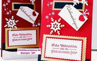Weihnachtskarte Mailbox