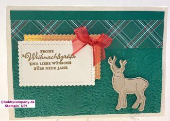 Weihnachtspost Karten gestalten