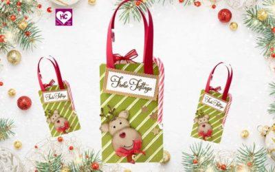 Anleitung Geschenktasche Elch