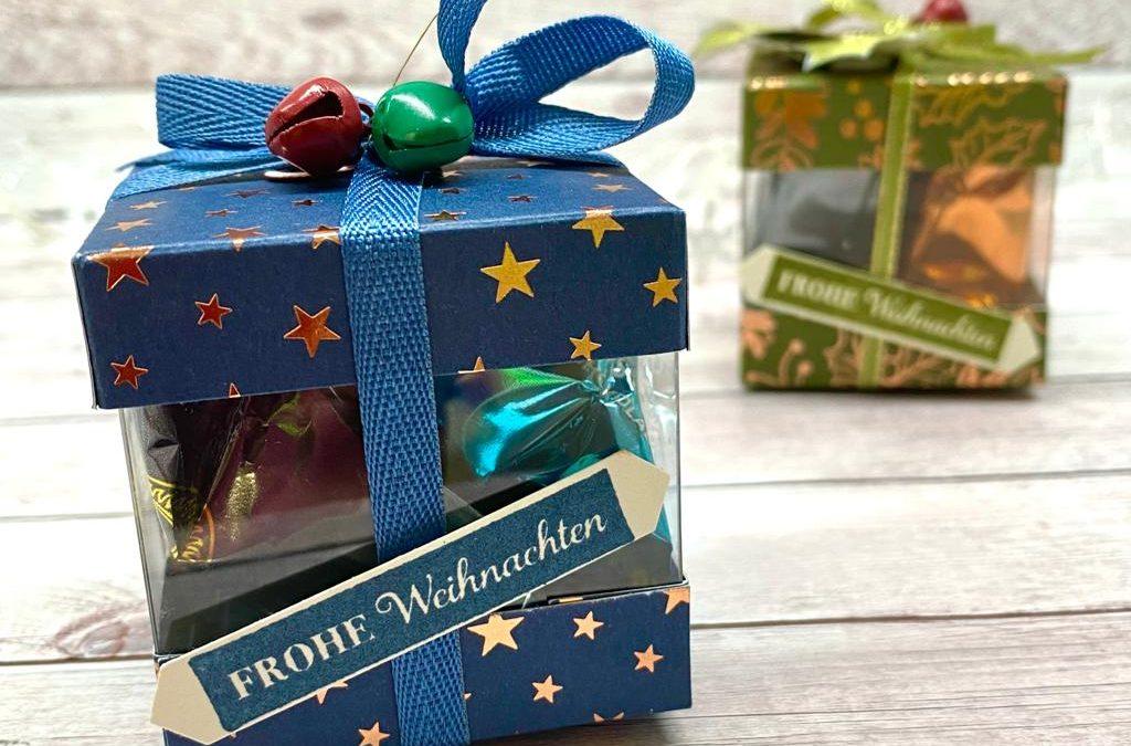 Verpackung basteln im Advent
