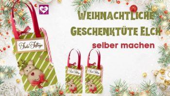 Anleitung Geschenktasche Elch Video