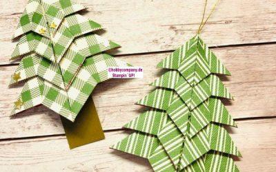 Origami Tannenbaum basteln