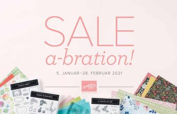 Sale-a-Bration Stampin up Aktion