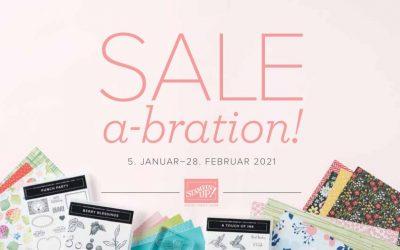Saisonkatalog und Sale-a-Bration Aktion