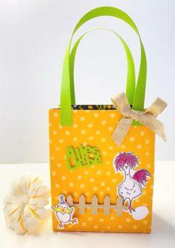 Tasche mit Stempelset Das Glebe vom Ei