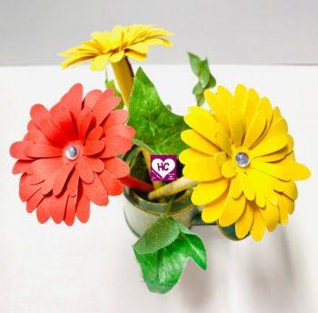 Duftende Papierblumen DIY