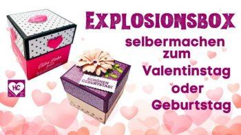 Explosionsbox Anleitung