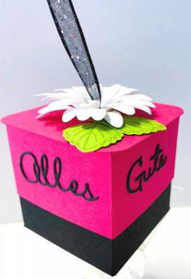 Geschenkbox basteln ganz einfach