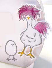 Stempelset Das Gelbe vom Ei