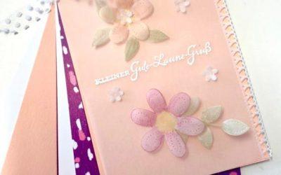 super einfach Mini-Scrapbook und Pergament
