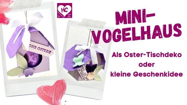 Anleitung Ostertischdeko und Mini-Geschenkidee