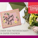 Blumen der Freundschaft Set von Stampin up