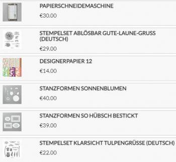 Stampin Up! Produkte
