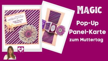 Pop-Up Panel-Karte zum Muttertag Videoanleitung