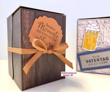 Geschenkbox zum Vatertag