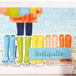 Ganz einfach 9 besondere Karten basteln-Set Bei jedem Wetter