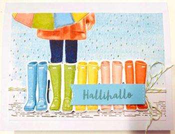 Set -Bei jedem Wetter von Stampin Up!