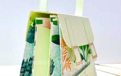 Elegante Teetasche Verpackung mit 6 Teebeuteln