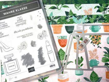Stampin Up Produkte für die Teetasche