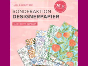 Stampin up Aktion Designerpapier