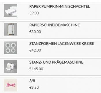 Produkte für die Verpackung