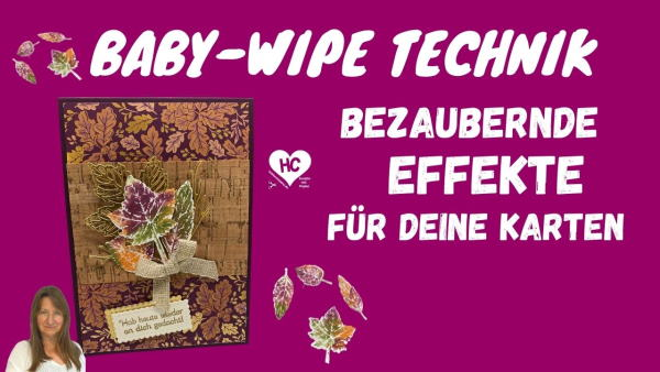 Anleitung Stempeltechnik Baby-Wipe