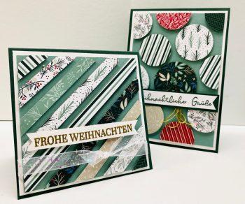 Stripe Cards Karten gestalten aus Streifen